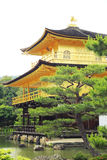 Kinkakuji temple or the Golden Pavilion, Kyoto, Japan. Stock Photos
