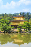 Kinkakuji Temple Golden Temple in Kyoto, Japan Stock Photos