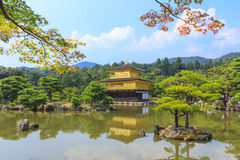Kinkakuji Temple Golden Temple in Kyoto, Japan Royalty Free Stock Photography