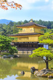 Kinkakuji Temple Golden Temple in Kyoto, Japan Royalty Free Stock Photos
