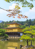 Kinkakuji Temple Golden Temple in Kyoto, Japan Stock Image