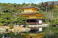 Kinkakuji Temple, Japan Royalty Free Stock Photo