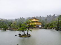 Kinkakuji temple Japan Stock Photography