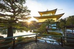 Kinkakuji Temple. Kinkaku-ji Temple is one of Japan`s most famous landmarks located in Kyoto ,Japan Royalty Free Stock Photos