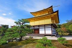 Kinkakuji Temple in Kyoto Stock Photos