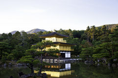 Kinkakuji temple in Kyoto,Japan Royalty Free Stock Photography