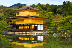 Kinkakuji Temple, Kyoto, Japan Stock Photography