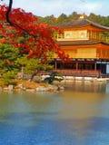 Kinkakuji temple Royalty Free Stock Images