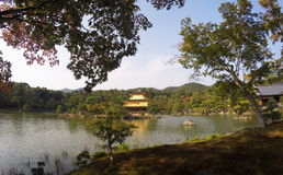 Kinkakuji temple Royalty Free Stock Photos