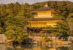 Kinkakuji Temple in Kyoto, Japan Stock Photos