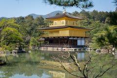 Kinkakuji Temple in kyoto, japan Royalty Free Stock Photography