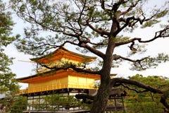 Kinkakuji Temple in Kyoto, Japan Royalty Free Stock Image