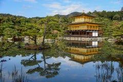 Kinkakuji Temple in Kyoto, Japan Stock Photography