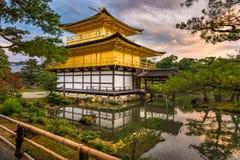 Kinkakuji Temple in Kyoto Royalty Free Stock Photo