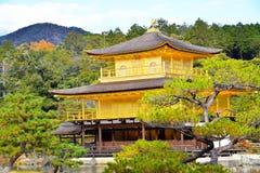 Kinkakuji temple. One of japanese world heritage Royalty Free Stock Images
