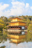 Kinkakuji Temple (The Golden Pavilion) in Kyoto, Japan Stock Photos