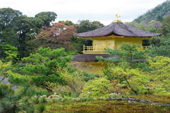 Kinkakuji Temple1 Fotografia Stock Libera da Diritti