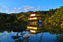 Kinkakuji-templo Japón Imagenes de archivo