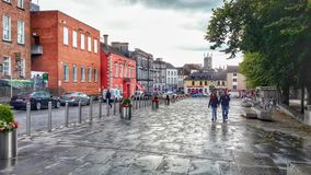 Kinkenny ireland. A beatiful town in ireland Royalty Free Stock Images