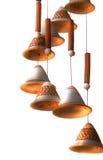 kinkietowy handbells zawieszenie zdjęcie stock