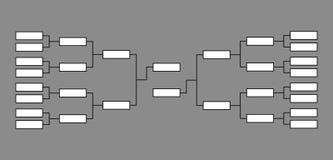Kinkietowy koszykówka turniej royalty ilustracja