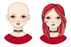 Kinky предназначенное для подростков Девушка воплощения красивая redheaded Стоковая Фотография