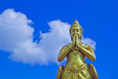 Kinnara statue Stock Photo