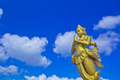 Kinnara statue Royalty Free Stock Photo