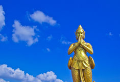 Kinnara statue Royalty Free Stock Photos