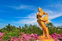 Kinnara statue Stock Images