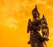 Kinnara statue Stock Image