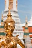 Kinnara, Thai mythical creature. Thailand Grand Palace Royalty Free Stock Photos