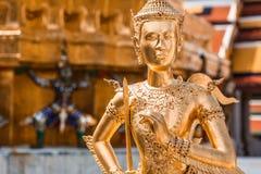 Kinnara, Thai mythical creature. Thailand Grand Palace Stock Photos