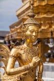 Kinnara in Wat Phra Kaew lizenzfreies stockfoto