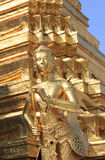 Kinnaree. In Buddhist mythology and Hindu mythology, a kinnara is a paradigmatic lover, a celestial musician, half-human and half-horse (India) or half-bird ( Royalty Free Stock Photos
