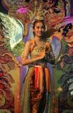 Kinnaree durante l'anno di miracolo di stupore della Tailandia 2012 Fotografia Stock