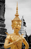 Kinnaree staty royaltyfri bild