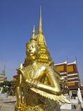 Kinnaree tailandês dourado Foto de Stock Royalty Free