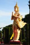 Kinnaree - Thai Creature Royalty Free Stock Photo