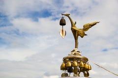 Kinnaree, uccello femminile Mythical Fotografia Stock