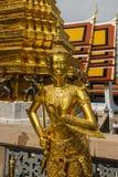 Kinnari曼谷玉佛寺 库存照片
