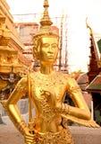 Kinnari sculpture Royalty Free Stock Photo