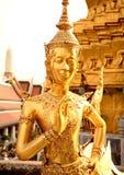 Kinnari sculpture Stock Image