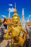 Kinnari statue Royalty Free Stock Images
