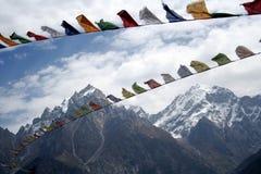 Kinnaur Kailash Imagem de Stock Royalty Free
