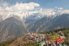 Kinnaur Kailash Sacred Peak Stock Photo