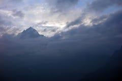 Kinnaur Kailash Stock Photography