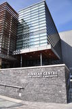 Kinnear Centre facade. At the Banff Centre in Banff, Alberta. The Banff  Centre is the largest arts incubator on the planet, with a mission to inspire Stock Photography