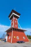 Kinnekulle-Aussichtsturm ein Markstein im Bereich Stockfotos