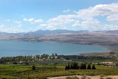 Kinneret jezioro Izrael Obraz Stock